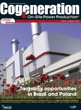 Cover majalah Cogeneration-On-Site Power Production